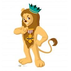 Cowardly Lion (Kids WOZ Art)