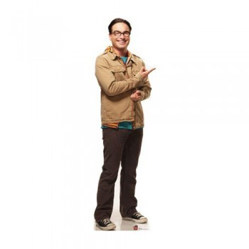 Leonard Big bang Theory Cardboard Cutout