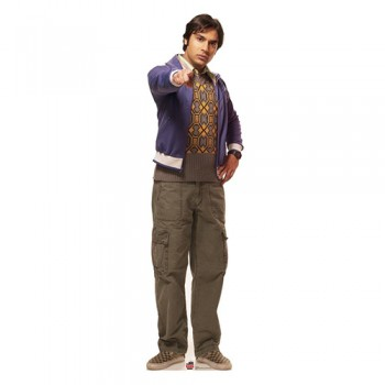 Raj Big bang Theory Cardboard Cutout