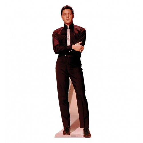 Elvis Presley Arms Folded Cardboard Cutout