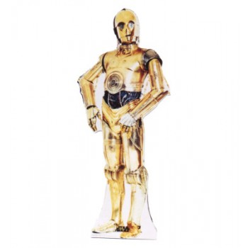 C 3PO Star Wars Cardboard Cutout - $39.95