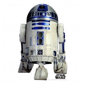R2 D2 (Star Wars) Cardboard Cutout - $24.95