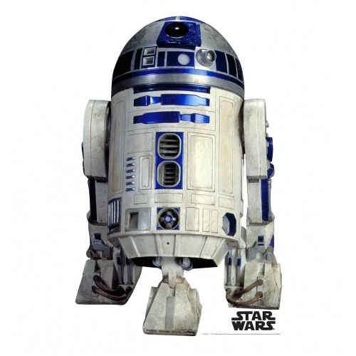 R2 D2 (Star Wars) Cardboard Cutout