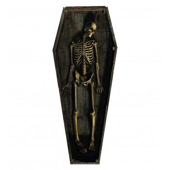 Skeleton Casket Cardboard Cutout - $39.95
