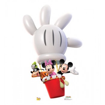 Mickey Balloon Ride Cardboard Cutout - $39.95