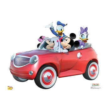 Mickey Car Ride Cardboard Cutout - $24.95