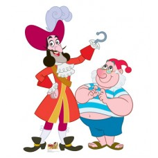 Captain Hook, Mr Smee Jake, and Neverland Pirates