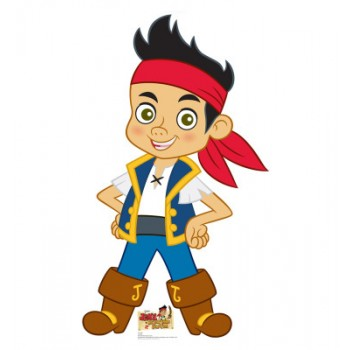 Jake Jake, and Neverland Pirates Cardboard Cutout