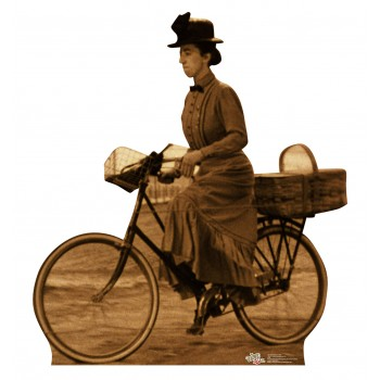 Miss Gulch on Bike The Wizard of Oz Cardboard Cutout