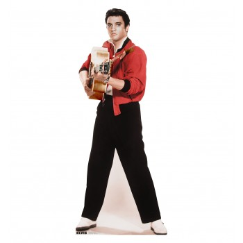 Elvis Black, and White Cardboard Cutout - $39.95