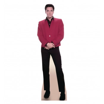 Elvis Red Jacket Cardboard Cutout - $39.95