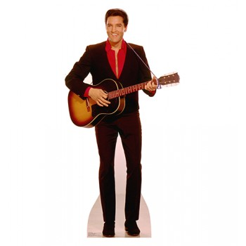 Elvis with Guitar Cardboard Cutout - $39.95