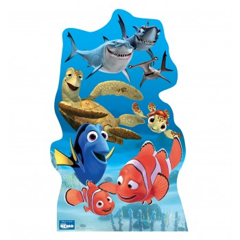 Finding Nemo Group Cardboard Cutout - $39.95