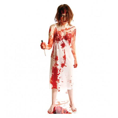 Psycho Lady Cardboard Cutout