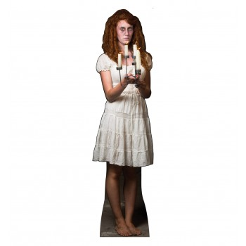 Candle Stick Lady Cardboard Cutout