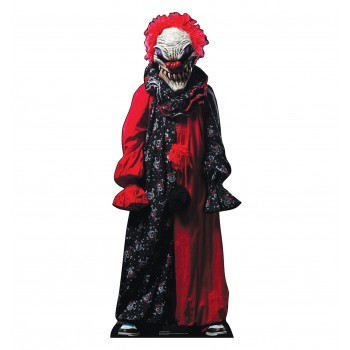 Creepy Clown Cardboard Cutout