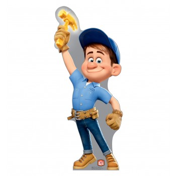 Fix It Felix Jr Disney s Wreck It Ralph Cardboard Cutout - $39.95