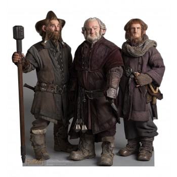 Nori Dori Ori The Dwarfs The Hobbit Cardboard Cutout - $39.95