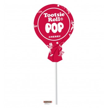 Tootsie Pop Cherry Cardboard Cutout