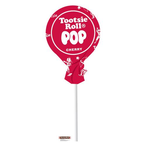 Tootsie Pop Cherry Cardboard Cutout