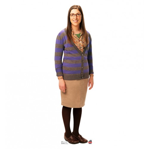 Amy Big Bang Theory Cardboard Cutout