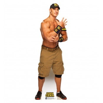 John Cena Navy and Gold WWE Cardboard Cutout - $39.95