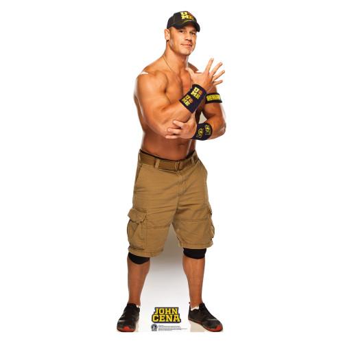 John Cena Navy and Gold WWE Cardboard Cutout