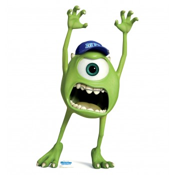 Mike Wazowski Monsters University Cardboard Cutout