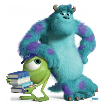 Mike and Sulley Monsters University Cardboard Cutout