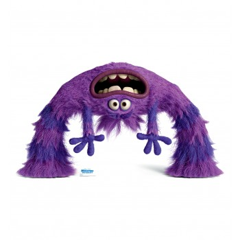 Art Monsters University Cardboard Cutout