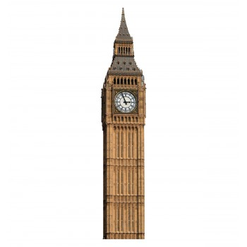 Big Ben Clock Tower Cardboard Cutout