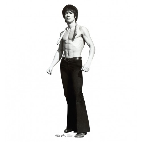 Bruce Lee Game Cardboard Cutout