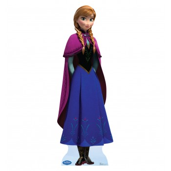 Anna Disney s Frozen Cardboard Cutout