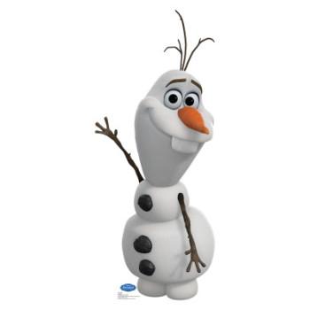 Olaf Disney s Frozen Cardboard Cutout