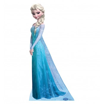 Snow Queen Elsa Disney s Frozen Cardboard Cutout