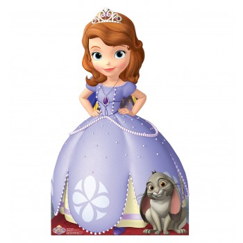 Sofia the First Disney Cardboard Cutout