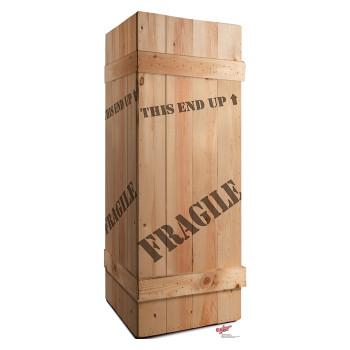 Fragile Leg Lamp Crate A Christmas Story Cardboard Cutout - $39.95