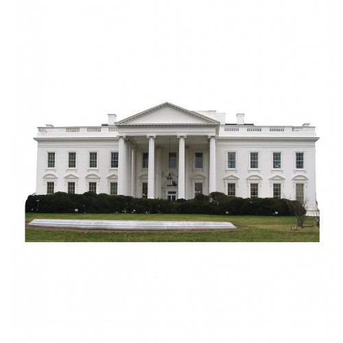 White House Cardboard Cutout