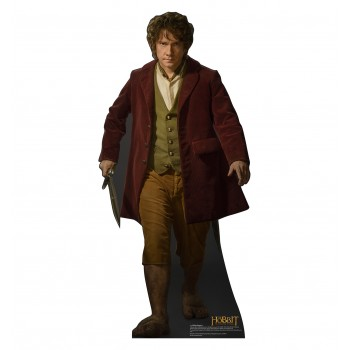 Bilbo The Hobbit: The Desolation of Smaug Cardboard Cutout