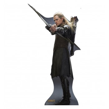 Legolas The Hobbit: The Desolation of Smaug Cardboard Cutout