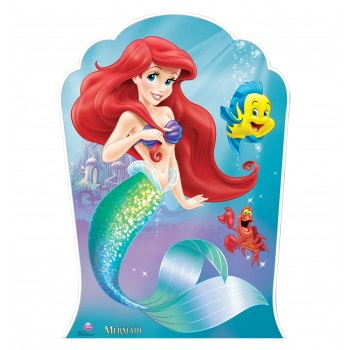 Ariel and Friends The Little Mermaid Cardboard Cutout