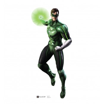 Green Lantern Injustice DC Comics Game Cardboard Cutout