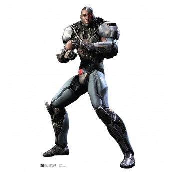 Cyborg Injustice DC Comics Game Cardboard Cutout