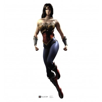 Wonder Woman Injustice DC Comics Game Cardboard Cutout