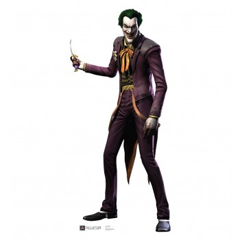 The Joker Injustice DC Comics Game Cardboard Cutout - $39.95