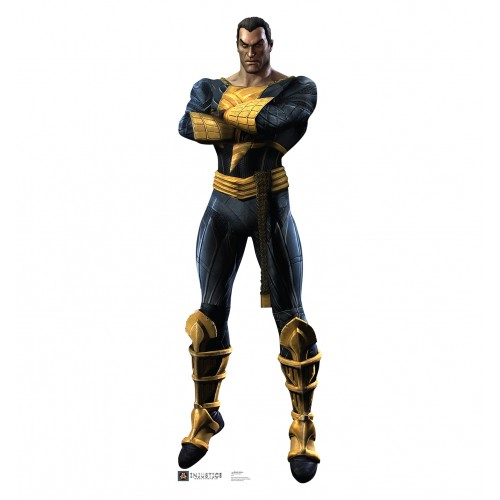 Black Adam Injustice DC Comics Game Cardboard Cutout