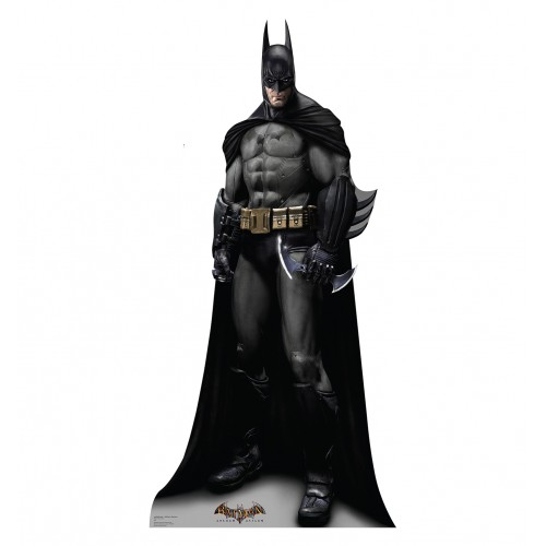 Batman Arkham Asylum Game Cardboard Cutout