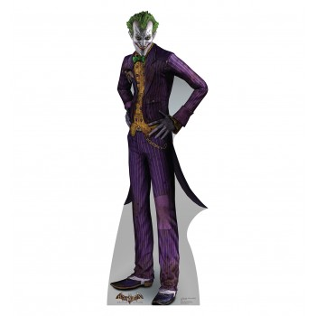 The Joker Arkham Asylum Game Cardboard Cutout