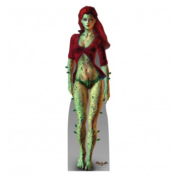 Poison Ivy Arkham Asylum Game Cardboard Cutout