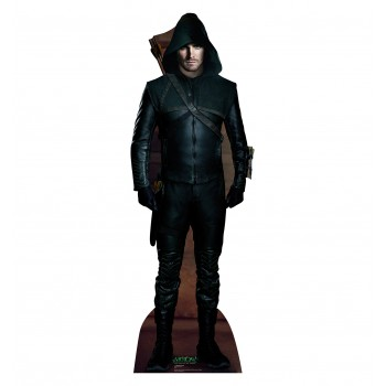 Green Arrow Arrow Cardboard Cutout